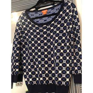 JOE FRESH printed sweater